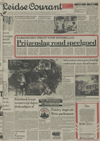 Leidse Courant 1985-11-28