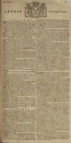 Leydse Courant 1757-01-05