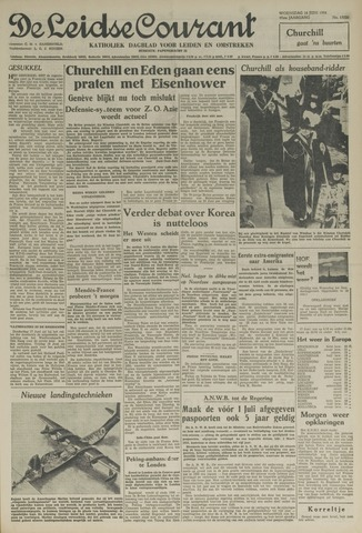 Leidse Courant 1954-06-16
