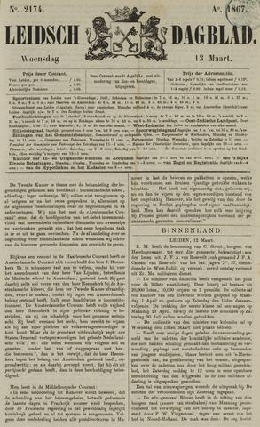 Leidsch Dagblad 1867-03-13