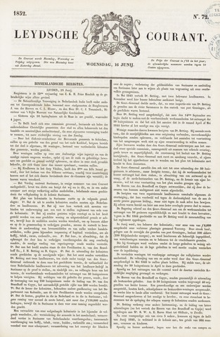 Leydse Courant 1852-06-16