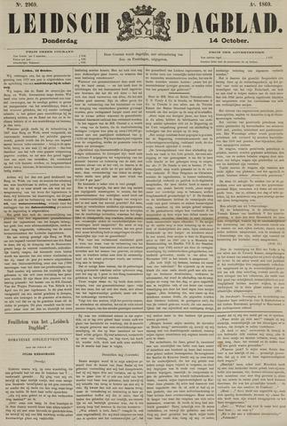 Leidsch Dagblad 1869-10-14