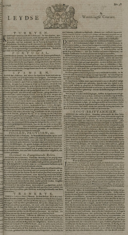 Leydse Courant 1726-03-06