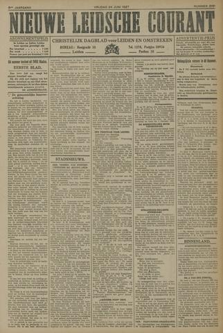 Nieuwe Leidsche Courant 1927-06-24
