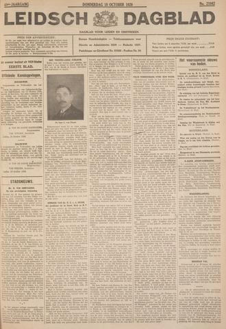 Leidsch Dagblad 1928-10-18
