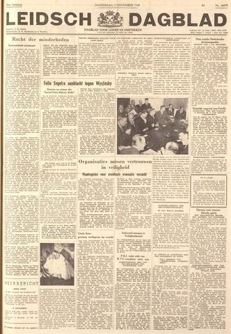 Leidsch Dagblad 1949-11-17