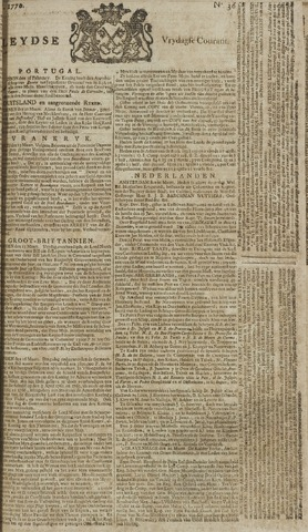 Leydse Courant 1770-03-23