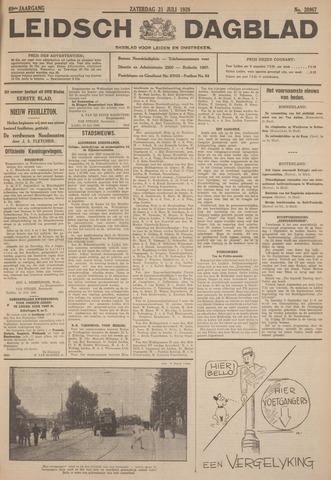 Leidsch Dagblad 1928-07-21