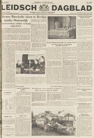 Leidsch Dagblad 1954-02-13