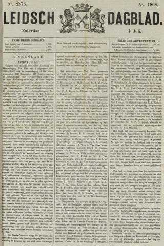 Leidsch Dagblad 1868-07-04
