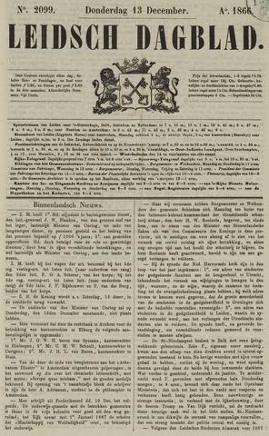 Leidsch Dagblad 1866-12-13