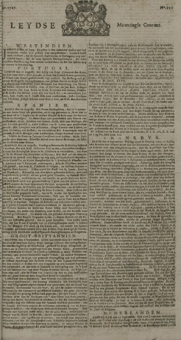 Leydse Courant 1727-09-15