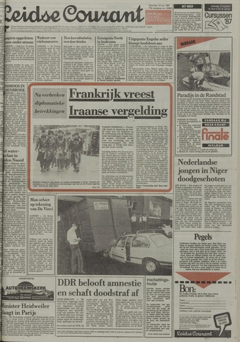 Leidse Courant 1987-07-18
