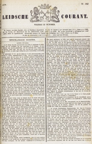 Leydse Courant 1879-10-31
