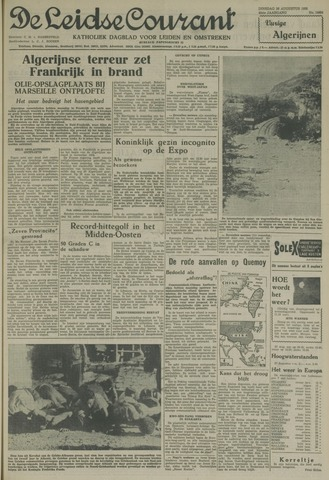Leidse Courant 1958-08-26
