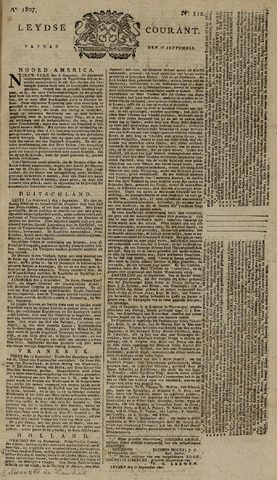 Leydse Courant 1807-09-18