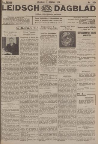 Leidsch Dagblad 1938-02-28