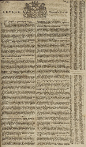 Leydse Courant 1759-08-13