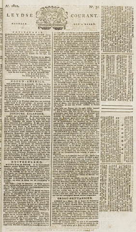 Leydse Courant 1822-03-11
