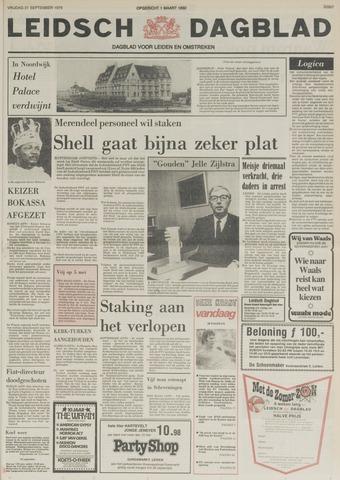 Leidsch Dagblad 1979-09-21