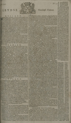 Leydse Courant 1745-01-25