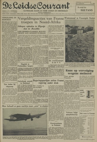 Leidse Courant 1955-08-24