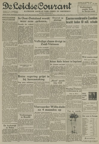 Leidse Courant 1954-10-15