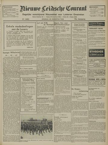 Nieuwe Leidsche Courant 1938-08-30