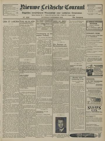 Nieuwe Leidsche Courant 1938-11-05
