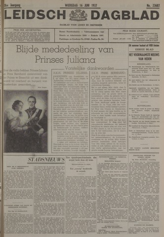 Leidsch Dagblad 1937-06-16