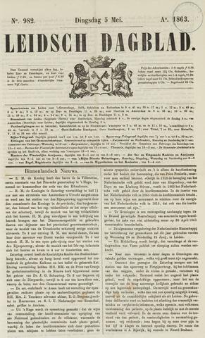 Leidsch Dagblad 1863-05-05