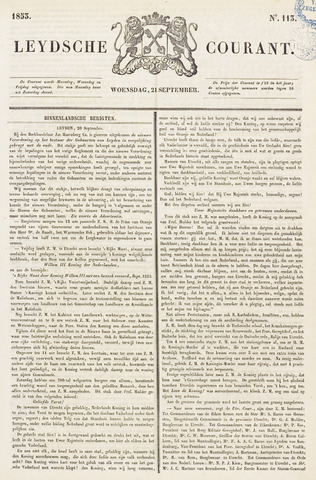 Leydse Courant 1853-09-21