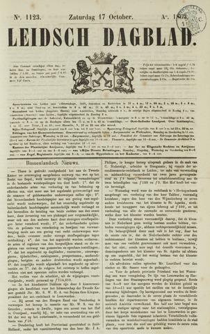 Leidsch Dagblad 1863-10-17