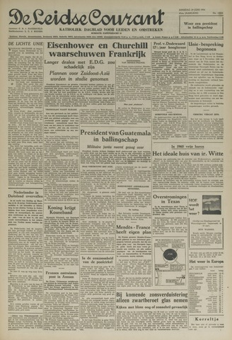 Leidse Courant 1954-06-29