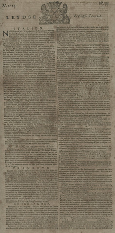 Leydse Courant 1743-08-09