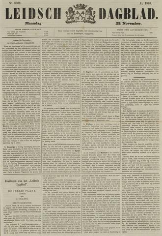 Leidsch Dagblad 1869-11-22