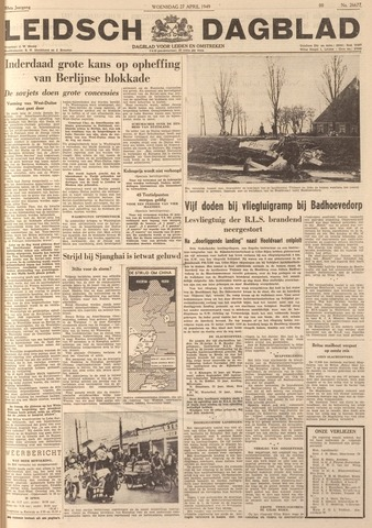 Leidsch Dagblad 1949-04-27