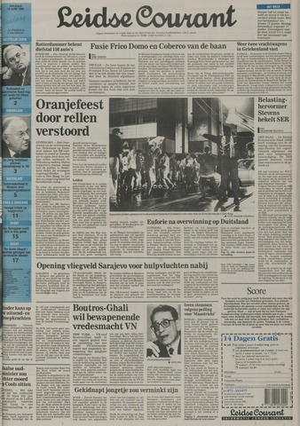 Leidse Courant 1992-06-19