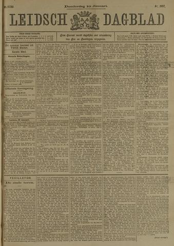 Leidsch Dagblad 1907-01-10