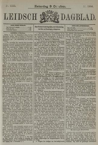 Leidsch Dagblad 1880-10-09