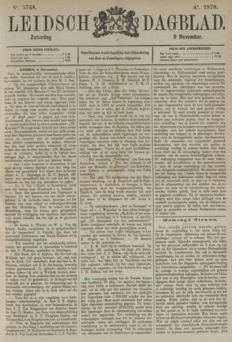 Leidsch Dagblad 1878-11-09