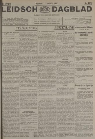 Leidsch Dagblad 1937-08-23