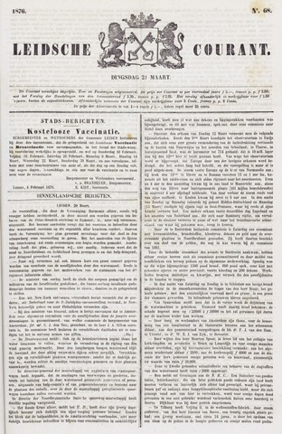 Leydse Courant 1876-03-21