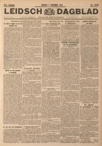 Leidsch Dagblad 1942-11-03