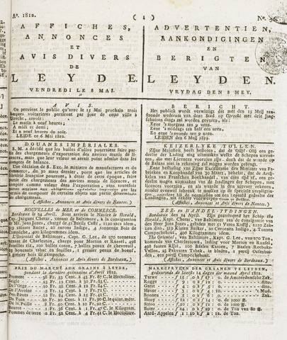 Leydse Courant 1812-05-08