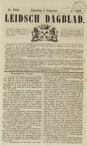 Leidsch Dagblad 1863-08-08