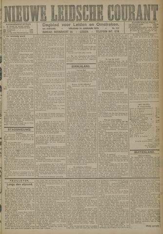 Nieuwe Leidsche Courant 1921-01-14