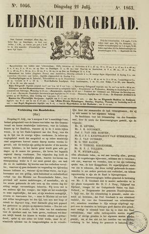 Leidsch Dagblad 1863-07-21