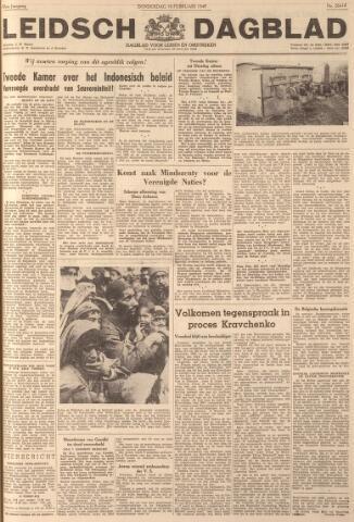 Leidsch Dagblad 1949-02-10