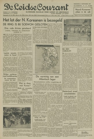 Leidse Courant 1950-09-27